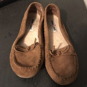 Moccasins hardly ever worn